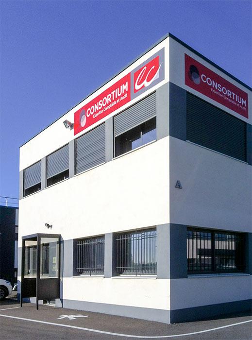 Cabinet comptable Consortium, à Eguilles, près d'Aix-en-Provence, dans les Bouches-du-Rhône